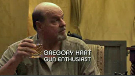 Burn Notice TV character Gregory Hart played by Michael Ironside, photo
