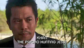 Burn Notice TV character Ming Kahn played by Byron Mann, photo