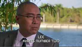 Burn Notice TV character Mr. Lee played by Ron Yuan, photo