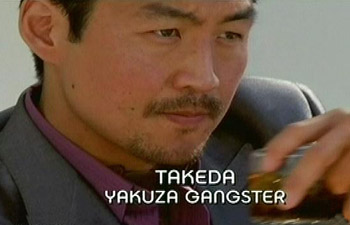 Burn Notice TV character Takeda played by Brian Tee, photo