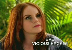 Photo of Aviva Farber playing Burn Notice TV character Eve