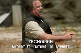 Burn Notice TV character Zechariah played by W. Earl Brown, photo