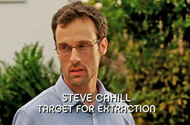 Burn Notice TV character Steve Cahill played by Henri Lubatti, photo