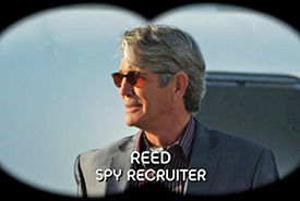 Photo of Eric Roberts playing Burn Notice TV character Reed Perkins