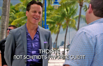 Photo of Marcos A. Ferraez playing Burn Notice TV character Thorn