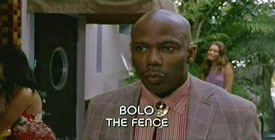 Photo of Erik King playing Burn Notice TV character Bolo