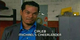 Burn Notice TV character Caleb played by Marcus Chong, photo
