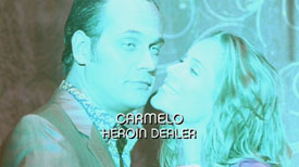 Photo of Todd Stashwick playing Burn Notice TV character Carmelo Dante
