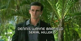 Burn Notice TV character Dennis Wayne Barfield played by James Ransone, photo