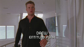 Burn Notice TV character Drew played by Zachery Ty Bryan, photo