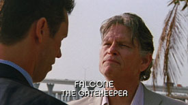 Photo of Jeff Kober playing Burn Notice TV character Falcone