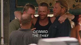 Burn Notice TV character Gerard played by Max Martini, photo
