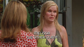 Photo of Nicholle Tom playing Burn Notice TV character Melissa Fontenau