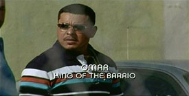 Burn Notice TV character Omar Hernandez played by Jacob Vargas, photo