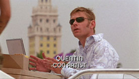 Burn Notice TV character Quentin King played by Mark Pellegrino, photo