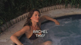 Burn Notice TV character Rachel played by Stacy Haiduk, photo