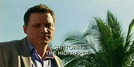 Burn Notice TV character Santora played by Holt McCallany, photo