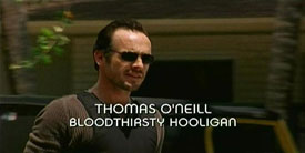 Burn Notice TV character Thomas O�Neill played by Paul Blackthorne, photo