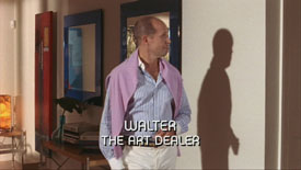 Photo of Craig Wroe playing Burn Notice TV character Walter