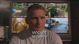 Burn Notice TV character Vincent played by Chance Kelly, photo