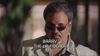 Burn Notice TV character Barry Burkowski played by Paul Tei, photo