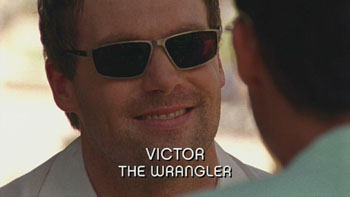 Photo of Michael Shanks playing Burn Notice TV character Victor Stecker-Epps