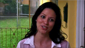 Burn Notice TV character Kendra played by Navi Rawat, photo