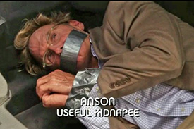 Photo of Jere Burns playing Burn Notice TV character Anson Fullerton