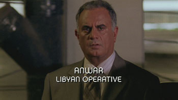 Burn Notice TV character Anwar played by Marshall Manesh, photo