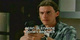 Photo of Gideon Emery playing Burn Notice TV character Sean Glenanne