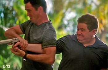 Photo of Burn Notice TV season six episode 614