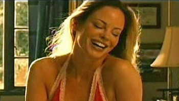 Burn Notice TV character Donna played by Chandra West, photo